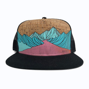 Hand Painted River Hat