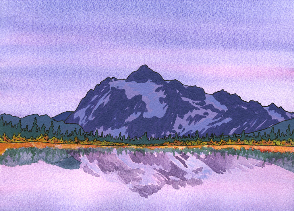 Mount Shuksan Card