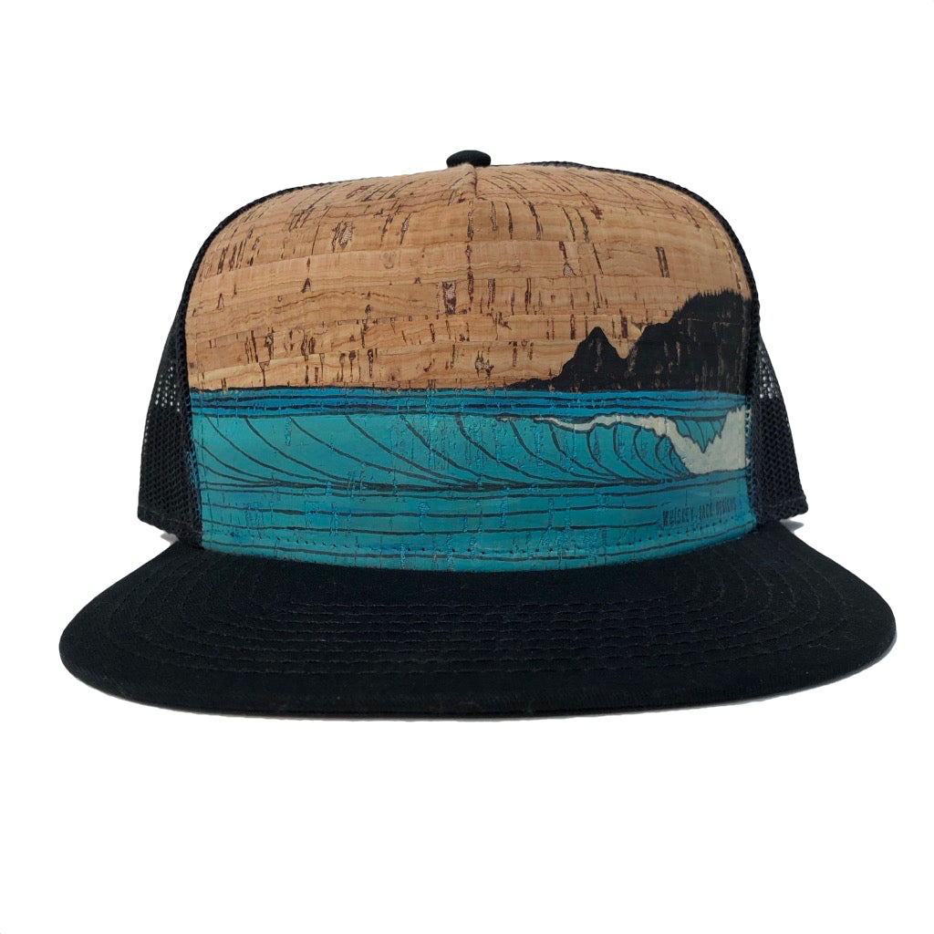 Hand Painted Northwest Coast Hat