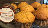Pumpkin Muffins made with Chalice Spice Organic Pumpkin Spices