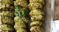 Chicken Patties made with spices from Chalice Spice