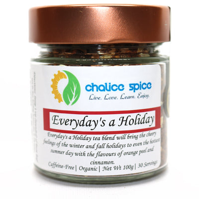 Chalice Spice Everyday's a Holiday Organic Herbal Tea