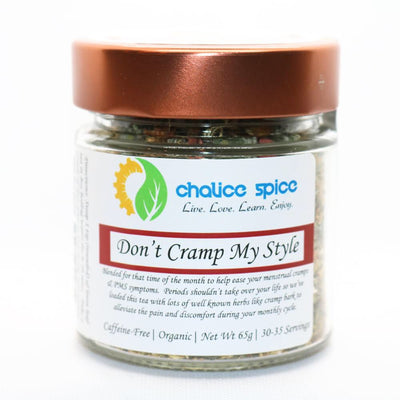 Don't Cramp My Style Organic Loose Leaf Herbal Tea | Chalice Spice