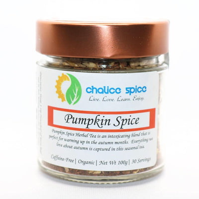 Pumpkin Spice Organic Loose Leaf Herbal Tea | Chalice Spice