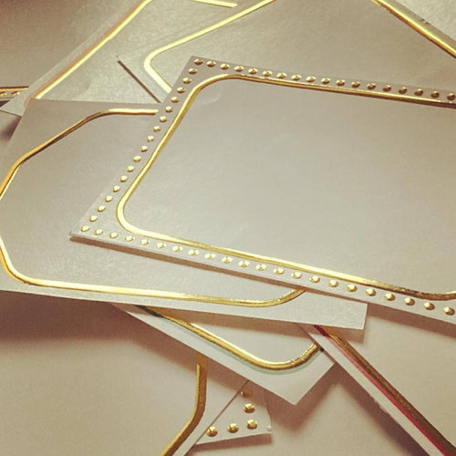Gold Foiled Labels