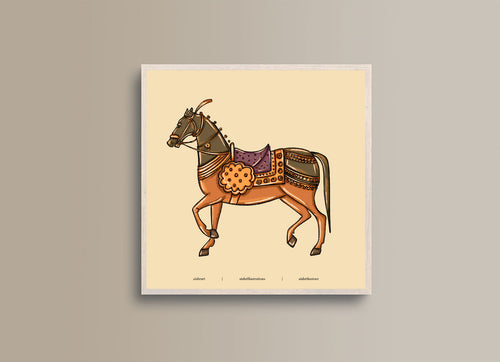 Horse from the Past