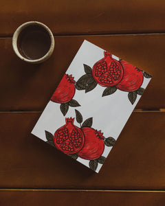 Pomegranate Notebook
