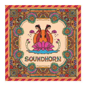 Sound-Horn 48in x 48in Scarf