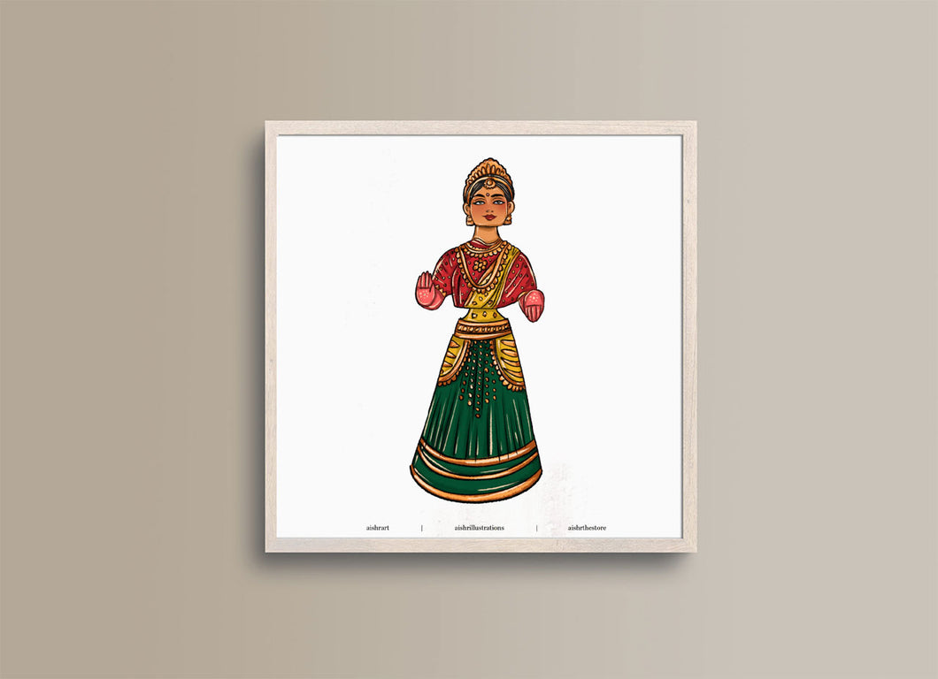 Tanjore Doll 9