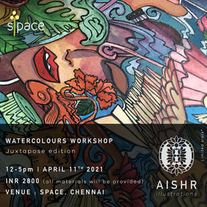 Water Colour Workshop - 11th April 2021