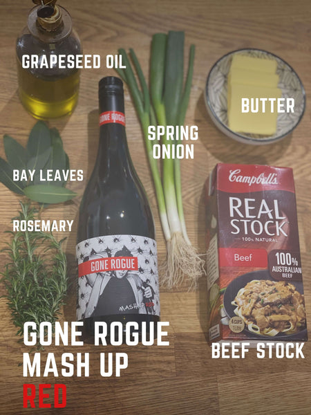 Red Wine jus - Gone Rogue Mash Up Red