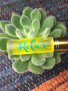 """Relax"" Essential Oil Roller"