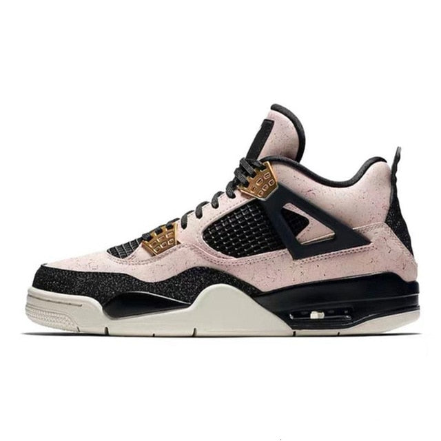 2019 men basketball shoes retro 4 thunder pure money bred cool grey flight military blue designer trainers sport sneakers