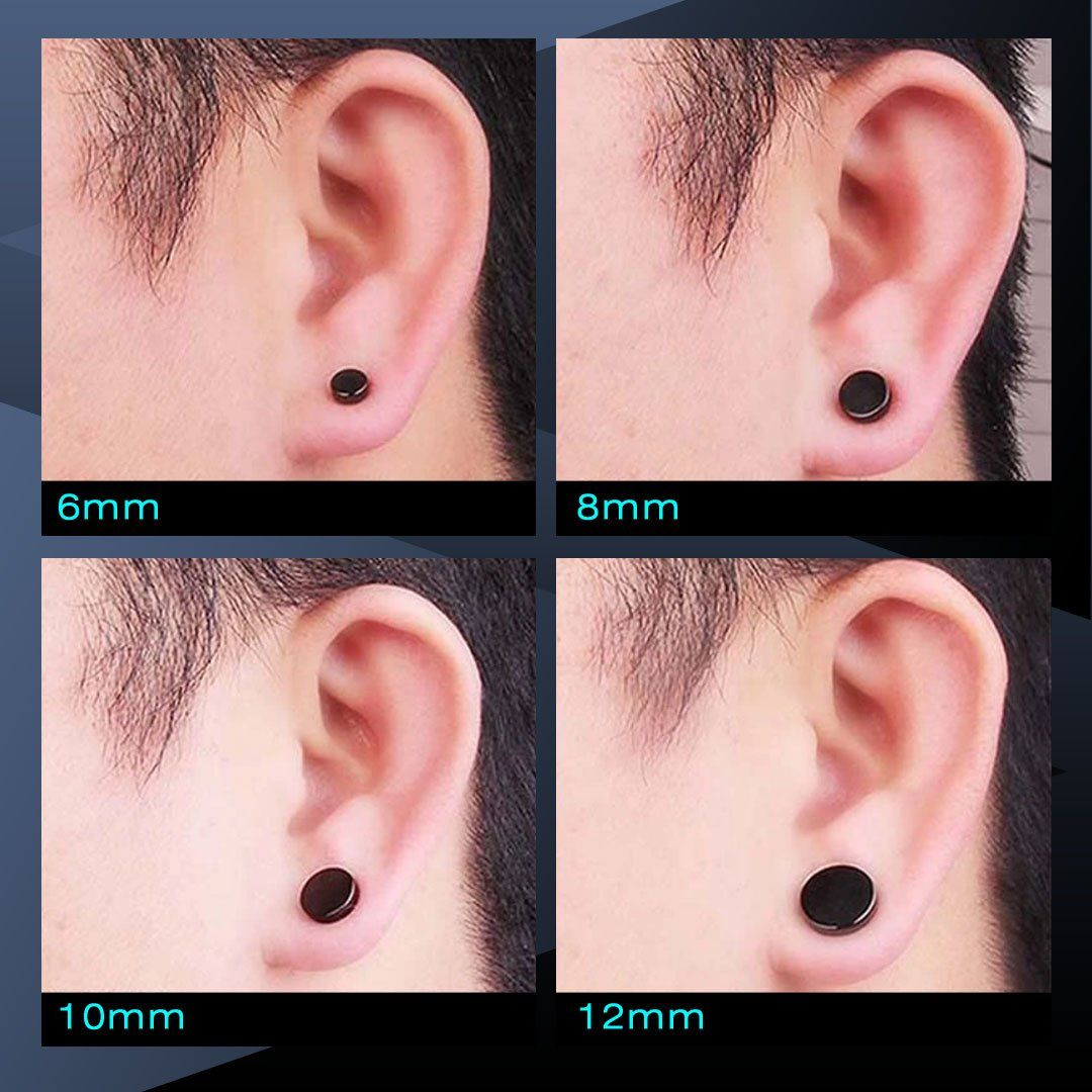 Unisex Magnetic Non-Piercing Earrings