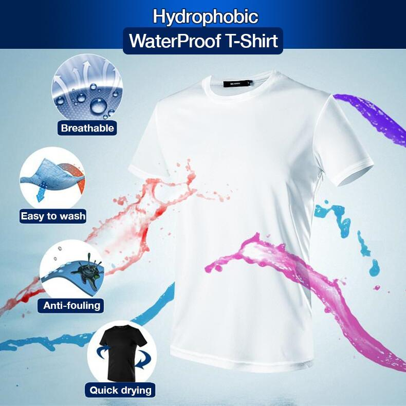 Men's Hydrophobic Waterproof T-Shirt