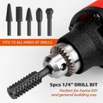 "1/4"" DIY Drill Bit Set - [5pcs]"