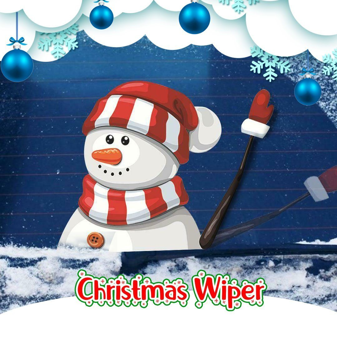 Christmas Car Wiper Sticker