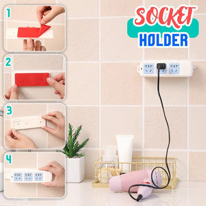 Self Adhesive Power Strip Wall Mount