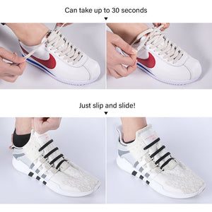 No Tie Elastic Shoelaces