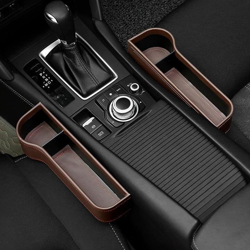 Premium Car Seat Gap Filler and Pocket Organizer