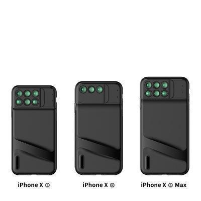 6-in-1 Pro Lens iPhone Case designed for iPhone XS/XS Max/XR