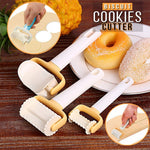 Biscuit Rolling Crimped Cutter - 3pcs Set