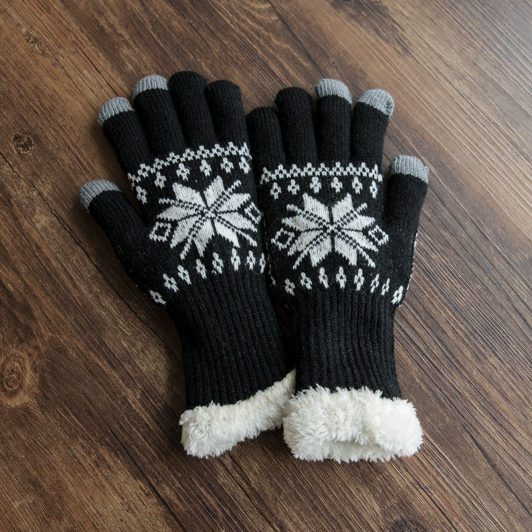 Premium Digits Touchscreen Knitted Gloves