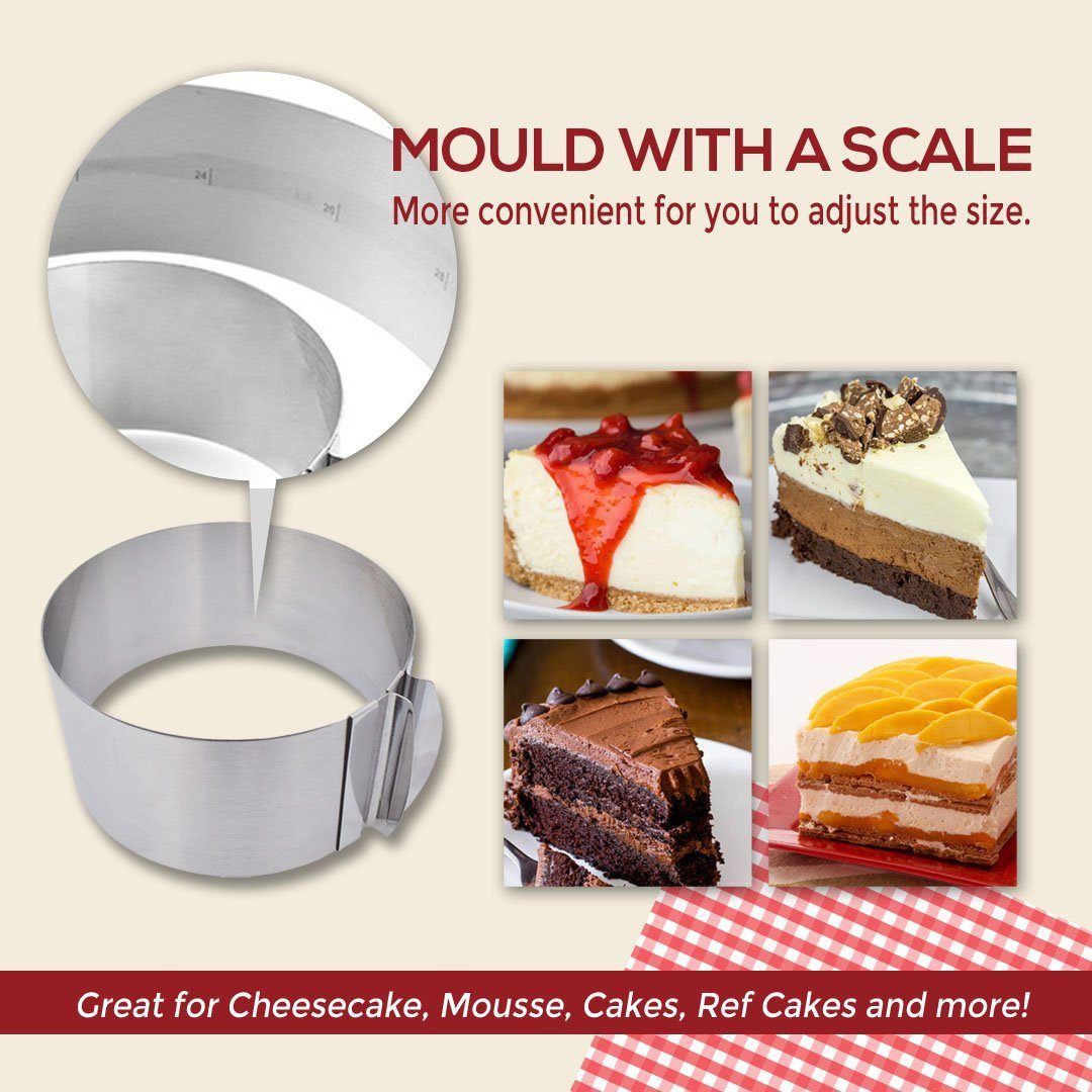 Adjustable Mousse Mold