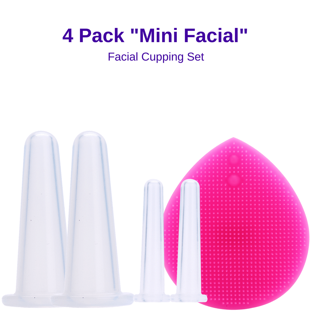 Silicone Cupping Set - 4pcs Set