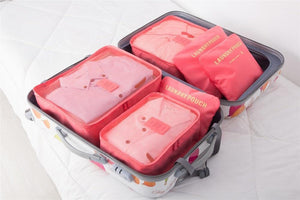 Travel Packing Organizer - 6pcs Set