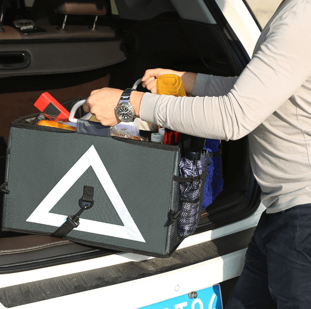 Car Trunk Collapsible Organizer