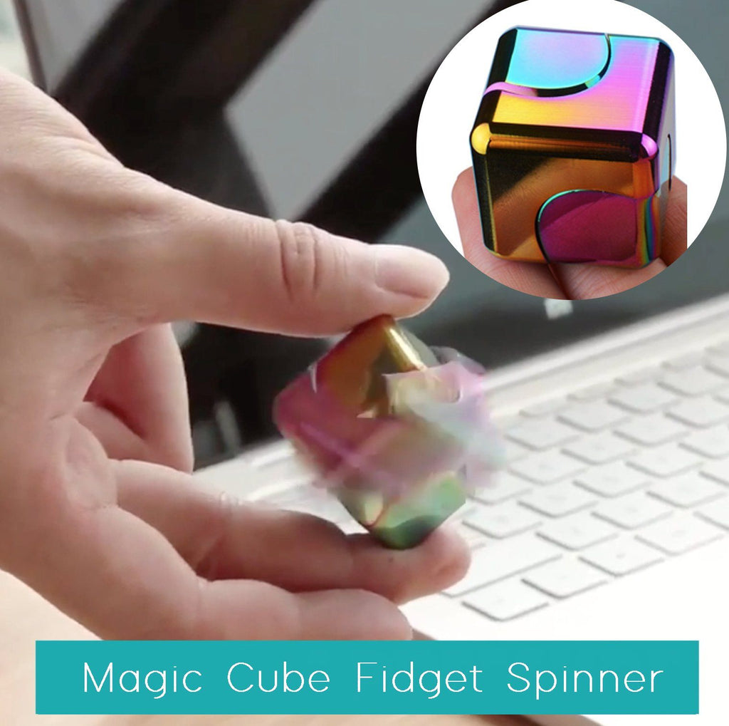 Magic Cube Fidget Spinner