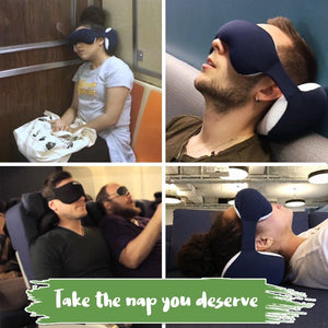 Portable Neck Pillow & Eye Mask