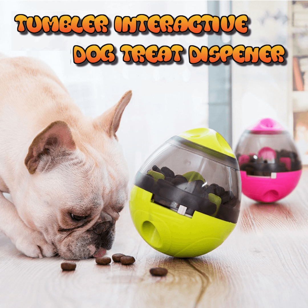 Tumbler Interactive Pet Treat Dispenser