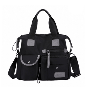 Multi-Pocket Shoulder Bag