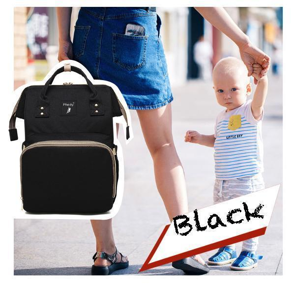 Multi-Function Chic Diaper Bag