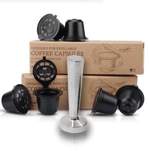 HILLAX Reusable Coffee Capsule - 6pcs Set