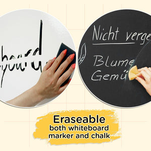Removable Self-Adhesive Chalkboard Sticker( Free Gift Included)