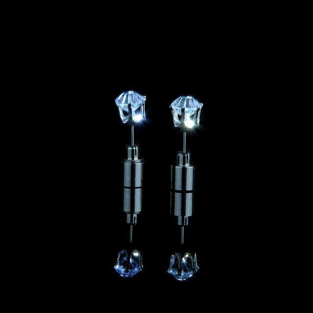 LED Blinking Studs Earrings (1 Pair)