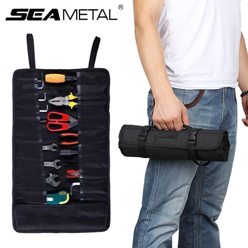 33 Pockets Portable Hand Tools Roll Up Organizer