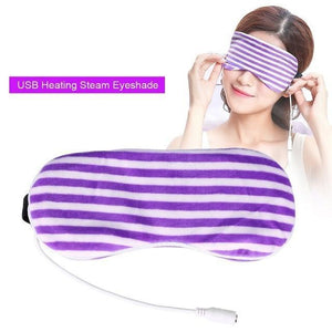 USB Heating Steam Lavender Eye Mask