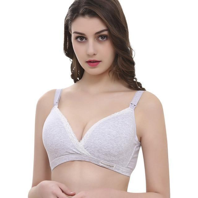 Cotton Maternity Nursing Bra