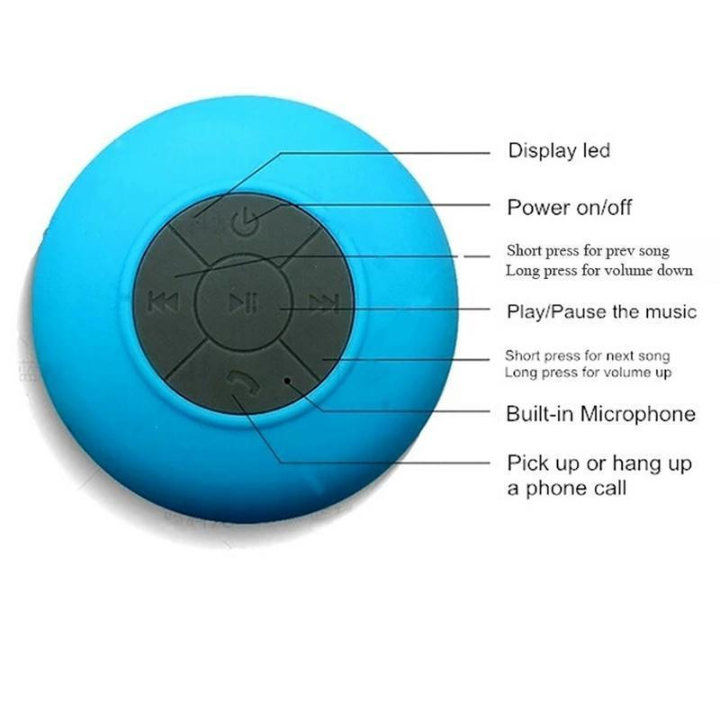 BOOMPRO Wireless Waterproof Bluetooth Speaker