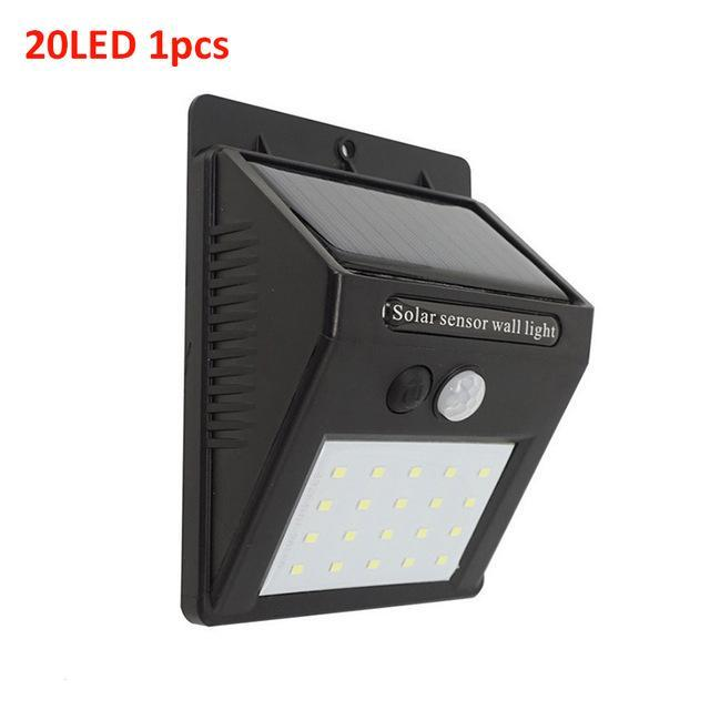 270° Wide Angle Solar Sensor Security LED Light