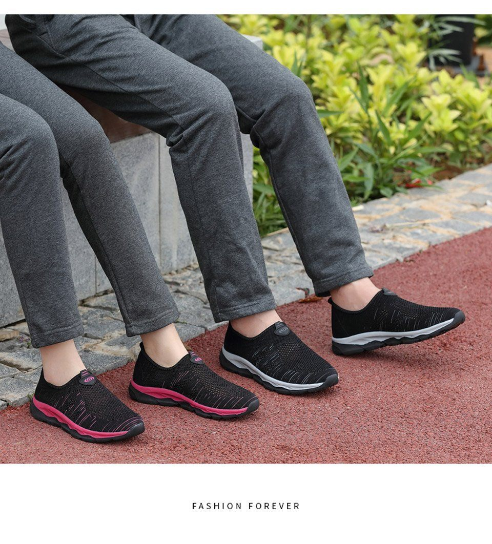 Ultra Comfy Air Mesh Slip-On Loafers