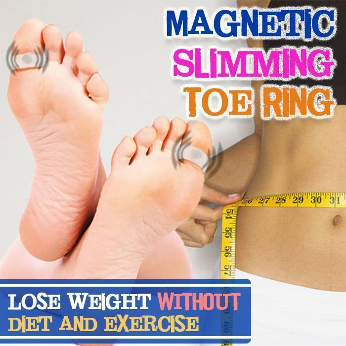 Magnetic Slimming Toe Ring