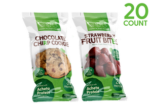 20ct Single Serves - Cookies & Fruit Bites