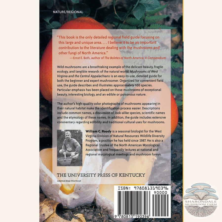 Mushrooms of West Virginia and the Central Appalachians book back cover