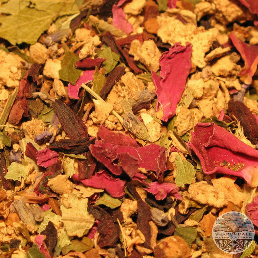 Sharondale Reishi Mushroom Heart Tea Blend