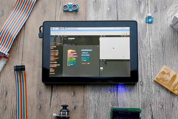 Raspad is a portable Raspberry Pi tablet for bringing creative projects to life